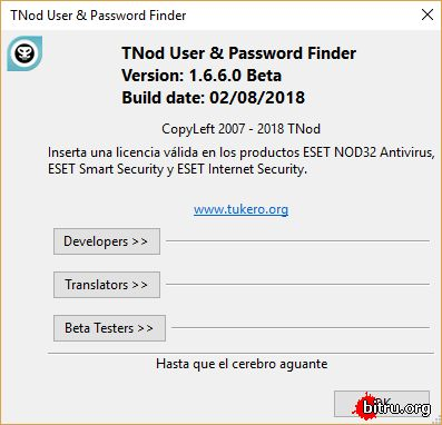 tnod user password finder 1.5.0.16 rus